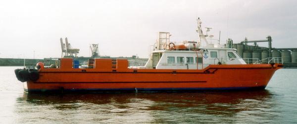 Commercial Vessel Crew Boat 16