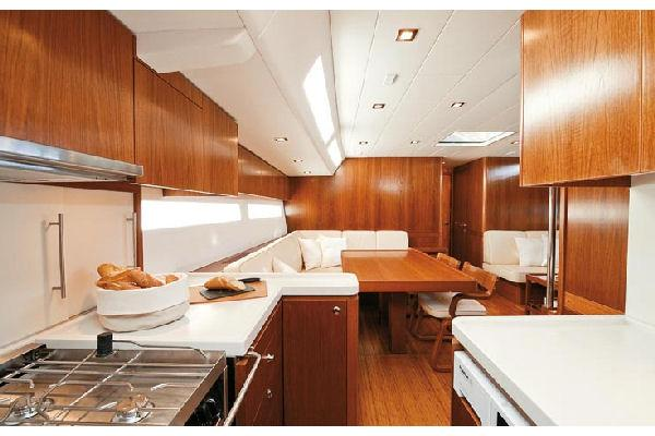 Nautor Swan 66 FD Galley