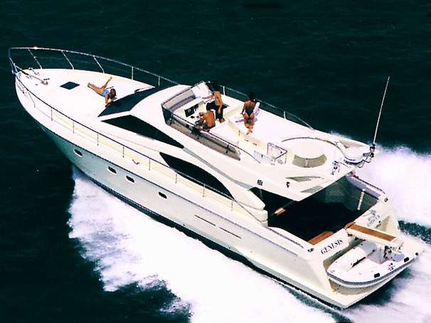 Ferretti Yachts 53 Manufacturer Provided Image