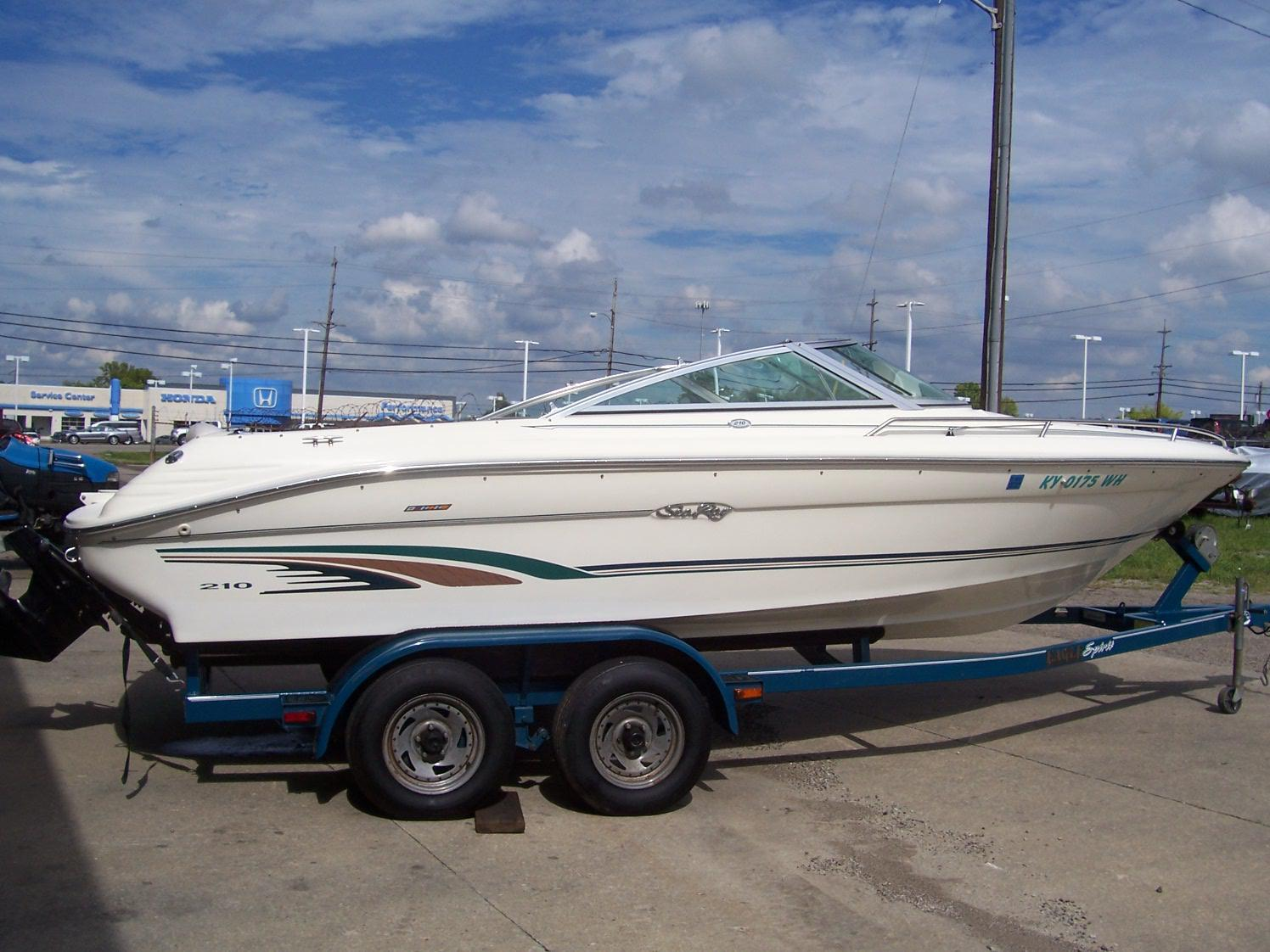 Ski and fish sea ray boats for sale for Sea ray fish