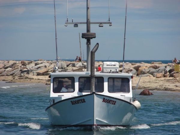 36' Stanley Williams Lobster Charter Fishing Boat For Sale
