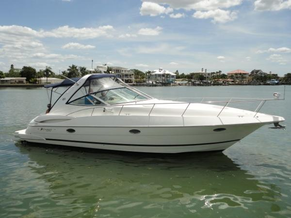 Cruisers 340 Express Starboard Profile