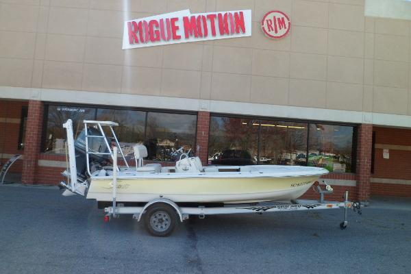 Scout 170 Costa STARBOARD ON TRAILER