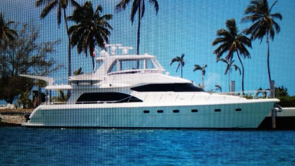 "Hampton 680 Pilothouse ""Papagei II"" in the Bahamas"