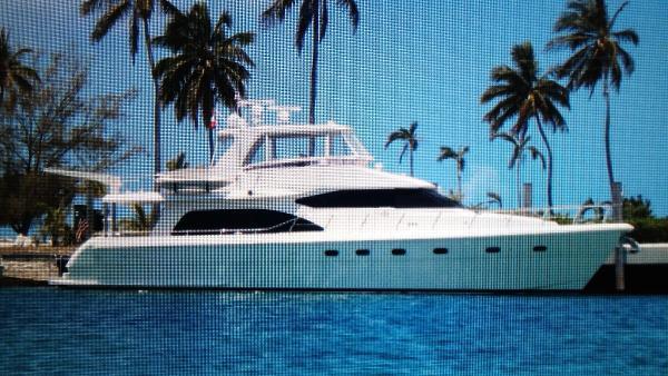 "Hampton 680 Pilothouse ""Papagei II"" in the Bahamas"