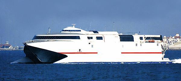 INCAT Fast RoPax Ferry