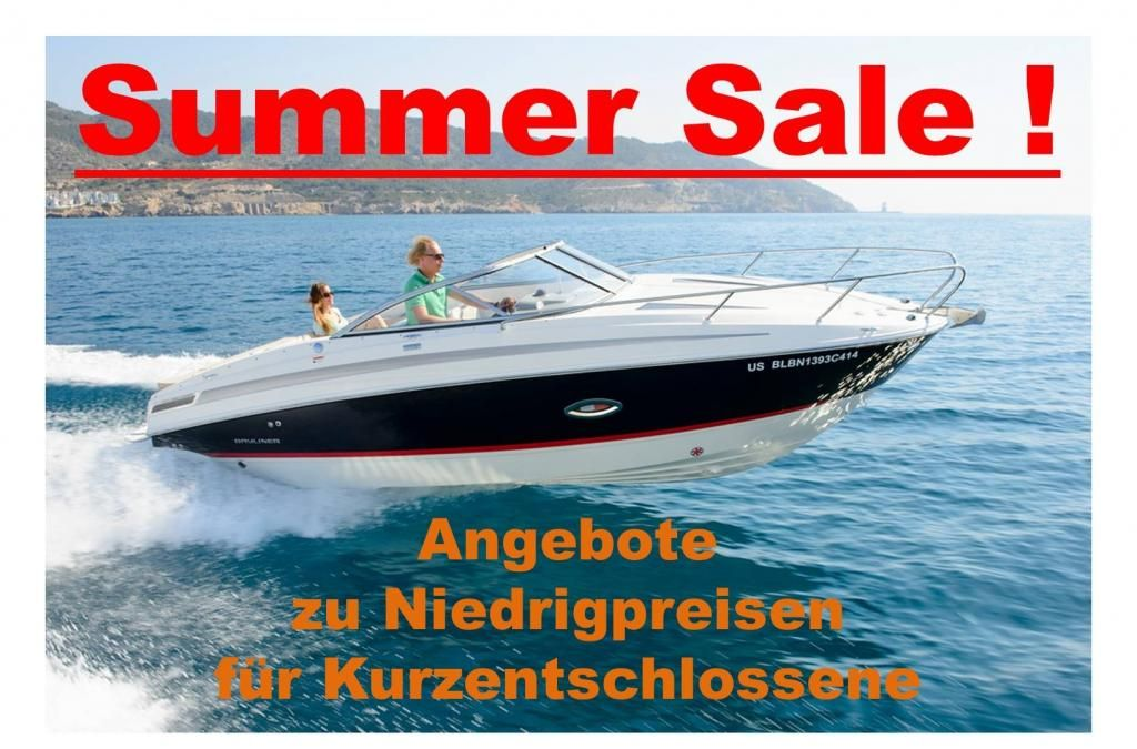 Bayliner 742 CU  250 PS  Kat  Voll  Trailer