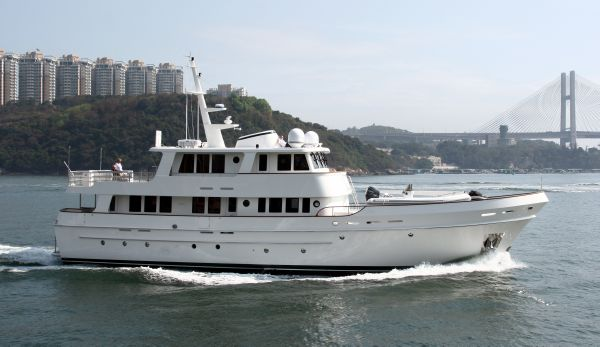 Cheoy Lee Expedition Series Motor Yacht