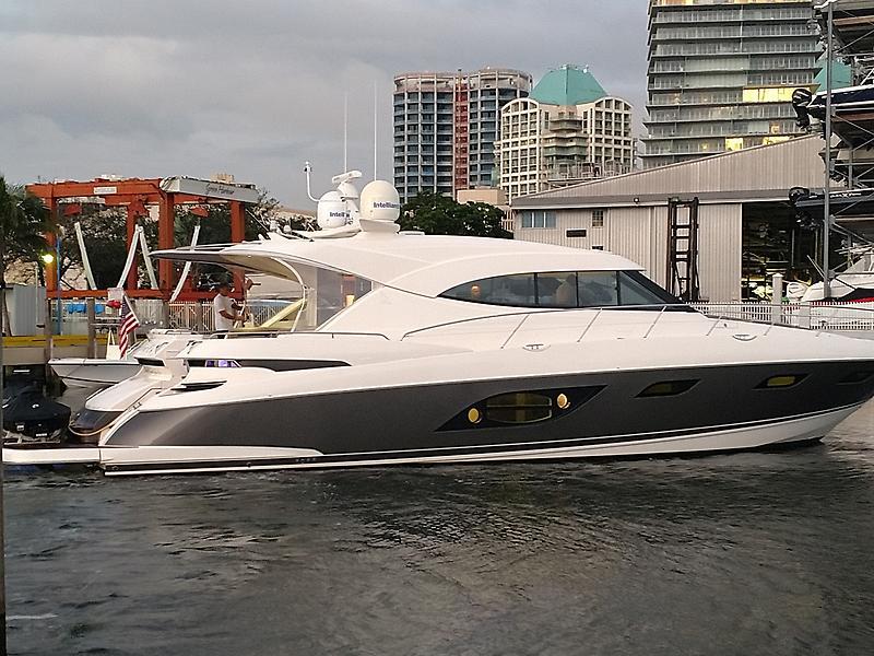 Riviera 6000 Sport Yacht PROFILE