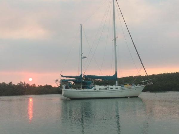 Allied Princess Ketch Time for Sun Downers!