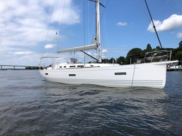 X-Yachts Xc 45 At Anchor