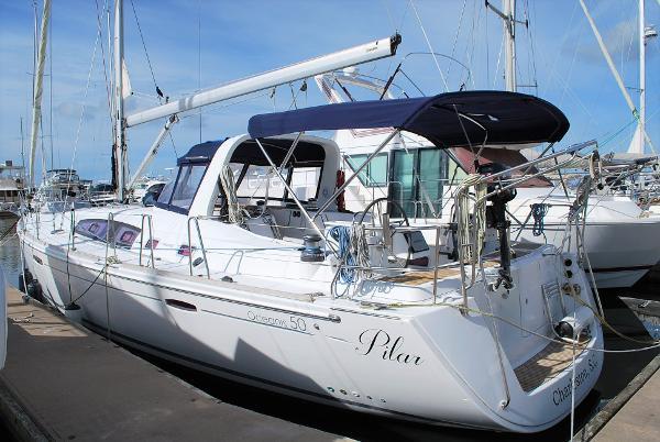 Beneteau Oceanis 50 Main Profile