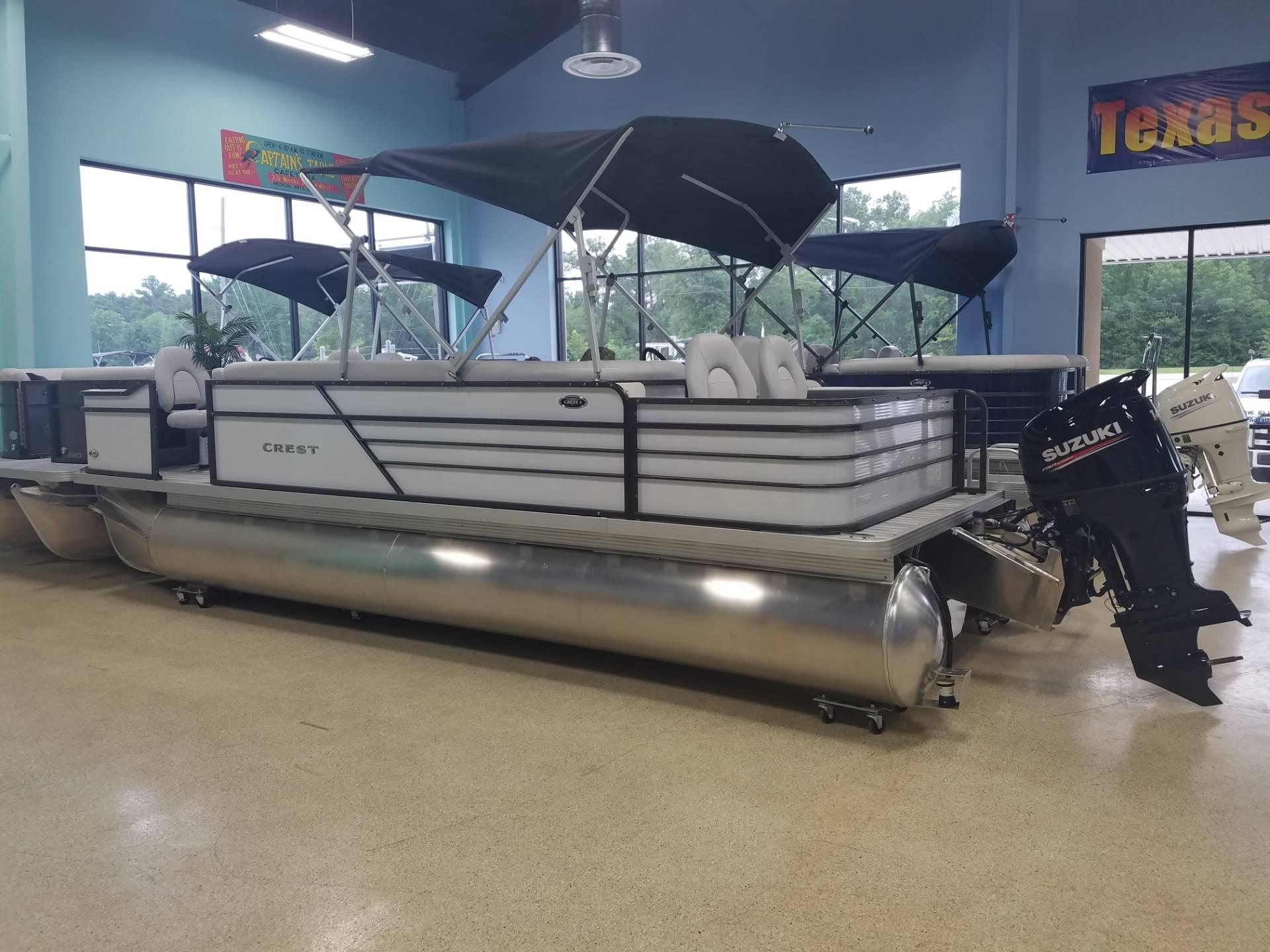 Crest Pontoon Boats I 220 C4