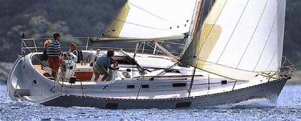 Beneteau Oceanis 351 sailing
