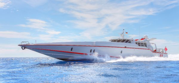 Brooke Yachts International Custom Built Running Shot