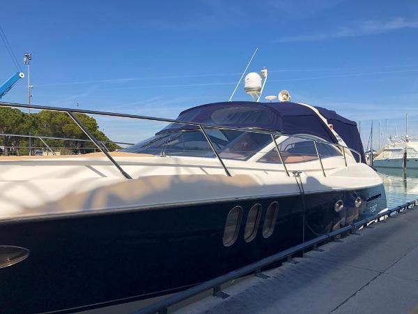 Absolute 45 5 Open vista laterale
