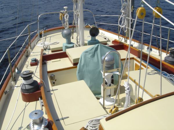 Cockpit Looking Aft