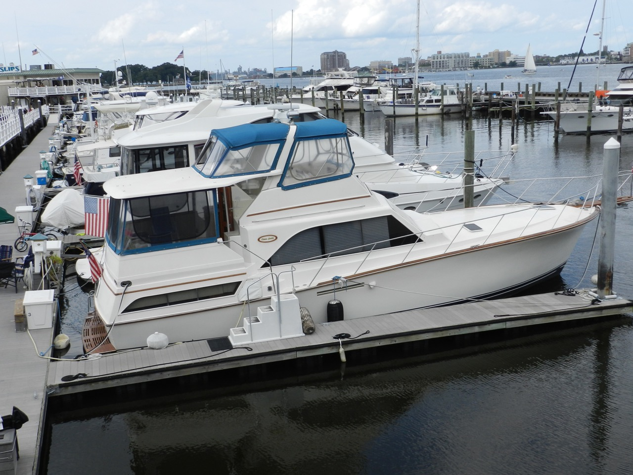 Ocean Yachts Sunliner Ocean Yachts 46 Profile