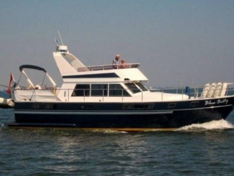 Blauwe Hand Commander 13.25 Flybridge