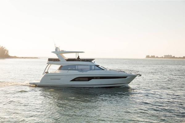 Prestige 630 Flybridge Profile is of Sistership