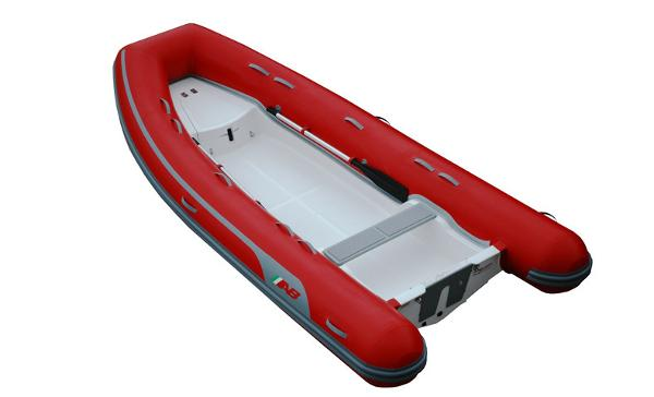 Ab Inflatables Navigo 14 VS Note: Boat shown with optional color choice tubes.
