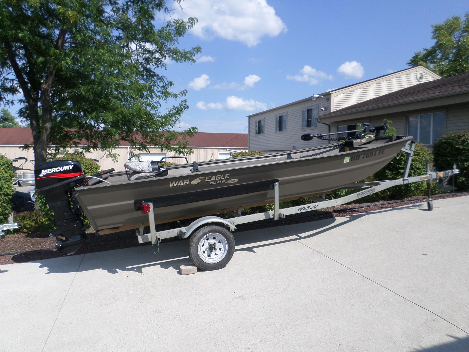 War Eagle Fishing Boat 542 FLD
