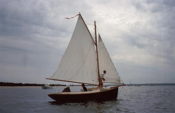 Ralph Stanley Friendship Sloop Under sail