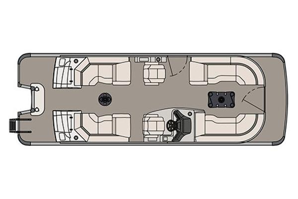 Avalon Ambassador Quad Lounge - 25'