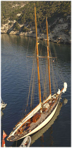 William Fife Gaff Schooner Photo 1