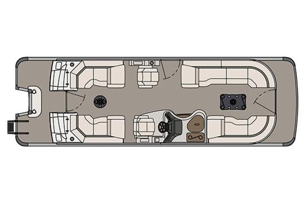 Avalon Ambassador Quad Lounge - 27'