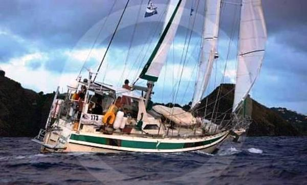 Reinke Super Secura Schooner Reaching!