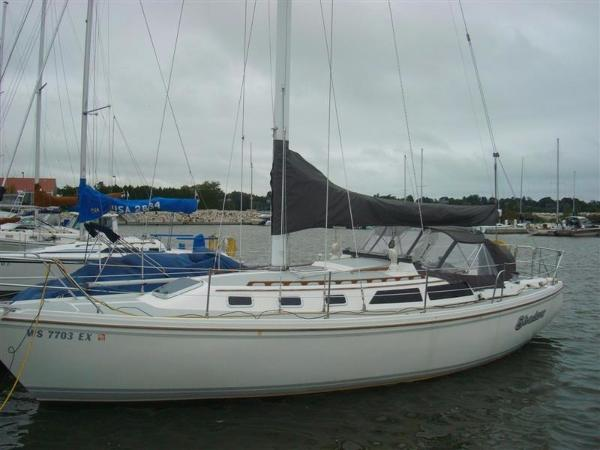 Catalina sloop 34