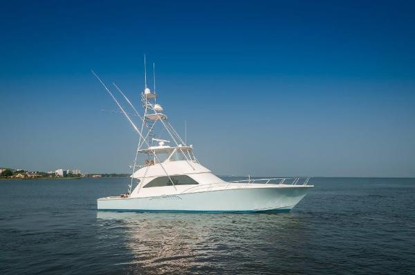 Viking 56 Convertible 2005 56 Viking Starboard Profile