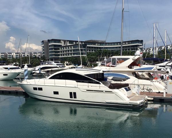 Fairline Targa 58 Gran Turismo Actual Boat - On Her Mooring