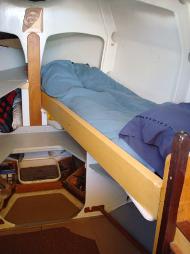 starboard bunk