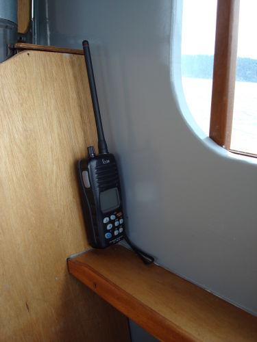 Icom handheld VHF