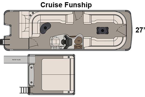 Avalon Ambassador Cruise Funship - 27'