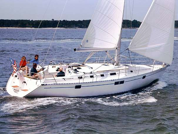 Beneteau Oceanis 440 Manufacturer Provided Image