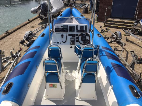 Scorpion R27 8.1M with Diesel Inboard