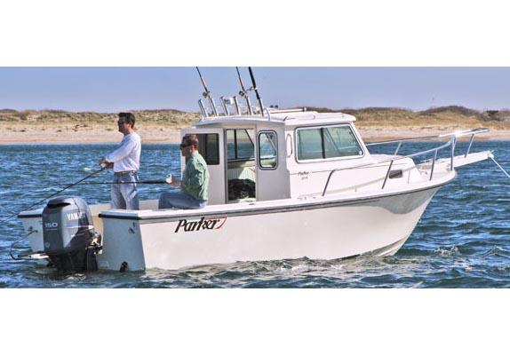 Parker 2120 Sport Cabin Manufacturer Provided Image
