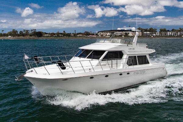 Navigator 57 Underway-Port Bow
