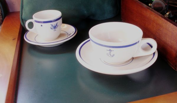 NAVY Officer's china