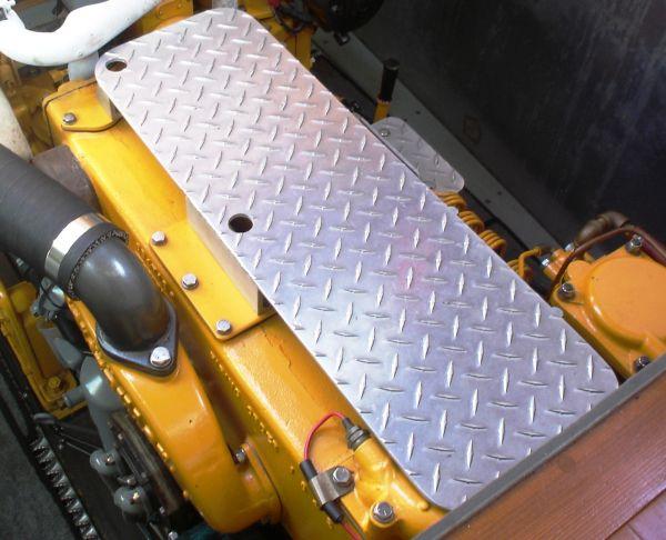 step on engine