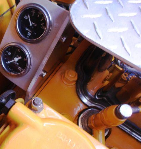 on engine gauges
