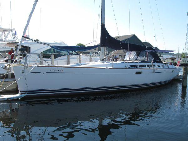 Jeanneau 49 sun odyssey At dock