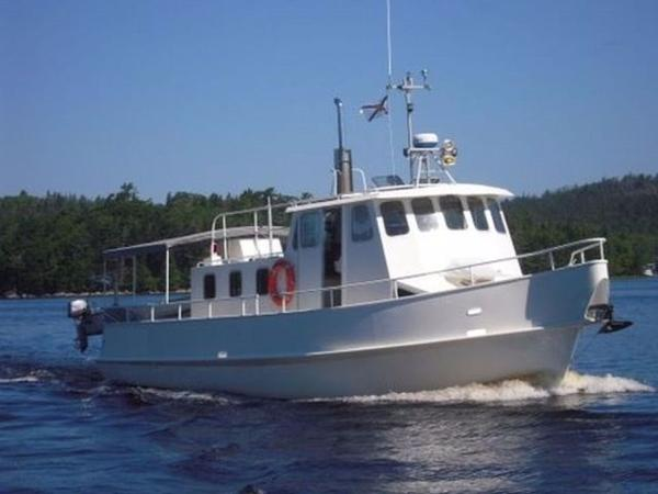 40' Steel Pleasure Trawler