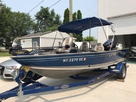 Used Lund aluminum fish boats for sale in Michigan - boats com