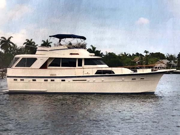Hatteras Motor Yacht Classic Main Profile