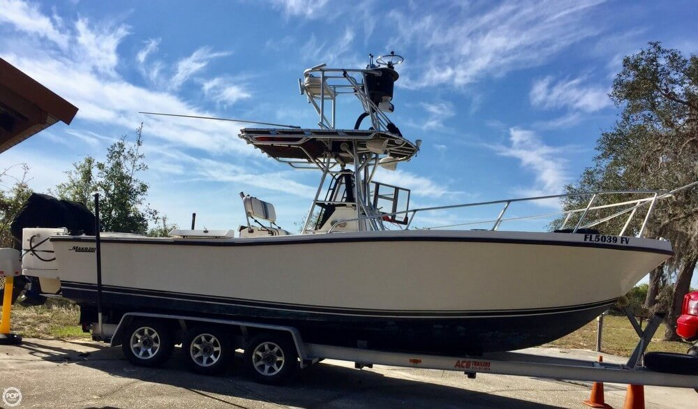 Mako 261 Center Console 1987 Mako 261 for sale in Lake Wales, FL