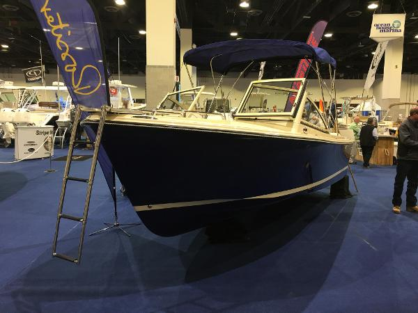 Rossiter 20 Coastal Cruiser Actual Boat with Fold Out Bow Ladder